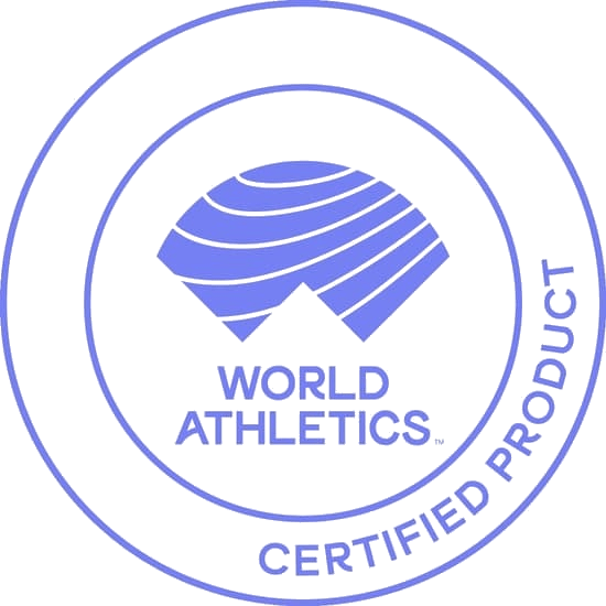 world athletics certified product